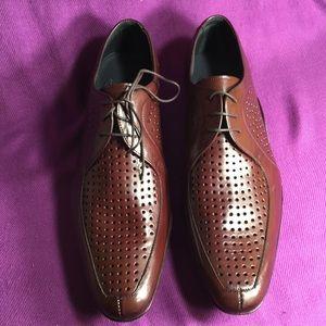 Mezlan men's NEW brown dress shoes Sz 9M